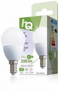 HQ – Ampoule Mini Globe E14 5 Watt LED 2700 k 350 lm de la marque HQ image 0 produit