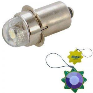 HQRP Ampoule LED 45 Lumens pour LWSA201, LWSA301, LWSA401, LWSA601 Lampe Krypton 2 3 4 5 6 D-cellules Mag-Lite Lampes de poche + mètre du soleil de la marque HQRP image 0 produit
