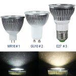 Hrph MR16 GU10 E27 5W Ampoule LED Lampe Spot Ampoule Haute puissance de la marque Hrph image 3 produit