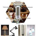 HUIERLAI 4x 12W E27 Ampoule LED Maïs Spot Light Blub Lampe 1205 Lumen Équivalent 80-100W Incandescent Angle de Faisceau 360° 6000K Blanc Froid Pour Garage Entrepôt Résidentiel éclairage Commercial de la marque HUIERLAI image 4 produit