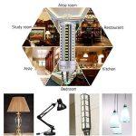 HUIERLAI 4x 15W E27 Ampoule LED Maïs Spot Light Blub Lampe 1380 Lumen Équivalent 120W Incandescent Angle de Faisceau 360° 6000K Blanc Froid Pour Garage Entrepôt Résidentiel éclairage Commercial de la marque HUIERLAI image 4 produit