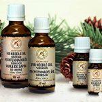 Huile Essentielle D'Aiguille De Sapin - 100% Naturelle Essentielle Pure 20ml - Pour Aromathérapie - Pour Le Sauna - Détente de la marque AROMATIKA image 4 produit