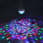 Huston Lowell® Ampoule rotative à LED Lumière d'ambiance pour Soirée/Boîte de nuit/Karaoké/Club/Fêtes Boule a facette RGB de la marque Huston Lowell image 4 produit
