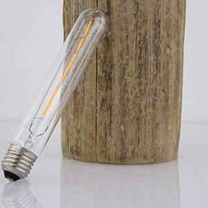 HWAMART ™ HL210. 3W T30-18 LED & verre ?3cm/longueur 18cm filament LED classique ampoule lumière froide dimmable ancienne Edison E27 vis 220V rétro lampe (HL210) de la marque PYXEL STUDIO image 0 produit