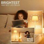 Hyperikon 9W Ampoule LED, Culot B22, Forme Classique A, Blanc Chaud 2700K, GLS ampoule baïonnette, Lot de 12 de la marque Hyperikon image 2 produit