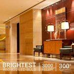 Hyperikon 9W Ampoule LED, Culot B22, Forme Classique A, Blanc Chaud 3000K, GLS ampoule baïonnette, Lot de 4 de la marque Hyperikon image 2 produit