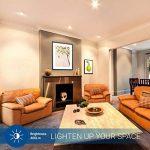 HyperSelect Ampoule LED Spot Culot GU10-5W - Blanc Chaud 2700K - Angle de Faisceau 40° - Éclairage du Plafond pour Rails de Spot/Luminaires - Lot de 12 de la marque Hyperikon image 4 produit