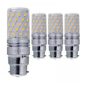 Hzsane B22LED ampoule à maïs 12W, 100W équivalent ampoules à incandescence, 3000K Blanc chaud, 1200LM, B22 Casquette à baïonnette Ampoules à LED, 4-Pack de la marque Hzsane image 0 produit