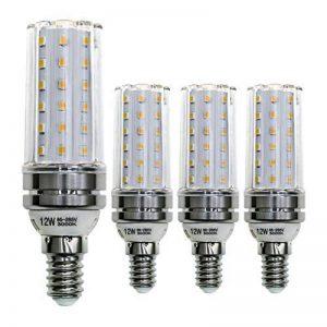 Hzsane E14LED Ampoule à Maïs 12W, 100W équivalent Ampoules à Incandescence, 3000K Blanc Chaud Chandelier E14SES Ampoules, 1200LM, Ampoule LED, Culot à vis Edison Ampoules, 4-pack de la marque HzSane image 0 produit