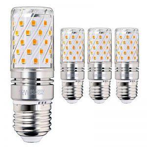 Hzsane E27LED ampoule à maïs 12W, 100W équivalent ampoules à incandescence, 3000K Blanc chaud Chandelier E27 ampoules, 1200LM, ampoule LED, culot à vis Edison Ampoules, 4-pack de la marque Hzsane image 0 produit