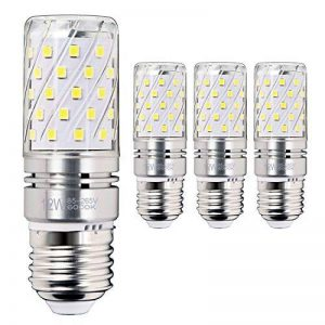 Hzsane E27LED ampoule à maïs 12W, 100W équivalent ampoules à incandescence, 6000K Blanc lumière du jour Chandelier E27 ampoules, 1200LM, ampoule LED, culot à vis Edison Ampoules, 4-pack de la marque Hzsane image 0 produit