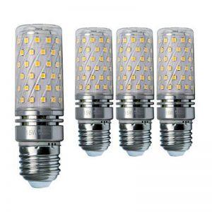 Hzsane E27LED ampoule à maïs 15W, 120W équivalent ampoules à incandescence, 3000K Blanc chaud Chandelier E27 ampoules, 1500LM, ampoule LED, culot à vis Edison Ampoules, 4-pack de la marque Hzsane image 0 produit