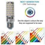 Hzsane E27LED ampoule à maïs 15W, 120W équivalent ampoules à incandescence, 6000K Blanc lumière du jour Chandelier E27 ampoules, 1500LM, ampoule LED, culot à vis Edison Ampoules, 4-pack de la marque Hzsane image 4 produit