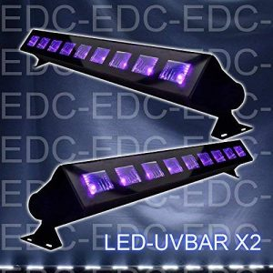 Ibiza PACK 2 LED-UVBAR Barre de lumière UV DJ LIGHT SONO LUMIÈRE LED de la marque Ibiza light image 0 produit