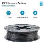 ICE FILAMENTS ICEFIL1CRB138 CRB Filament, 1.75 mm, 0.5 kg, Amazing Asphalt de la marque ICE FILAMENTS image 1 produit