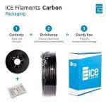 ICE FILAMENTS ICEFIL1CRB138 CRB Filament, 1.75 mm, 0.5 kg, Amazing Asphalt de la marque ICE FILAMENTS image 2 produit