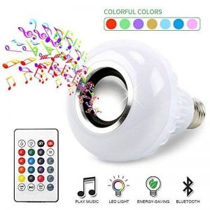IDABAY Musique LED Ampoule Bleutooth avec Changement de Couleur Boule Coloré sans Fil Eclairage Décoration Musical de la marque IDABAY image 0 produit