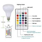 IDABAY Musique LED Ampoule Bleutooth avec Changement de Couleur Boule Coloré sans Fil Eclairage Décoration Musical de la marque IDABAY image 2 produit
