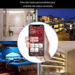 iHaper Ruban Intelligent LED Lightstrip Lumineux compatible avec Apple HomeKit et Contrôlé par Siri au réseau 2.4 GHz, Hue Ruban Lumineux RGB SMD 5050 10W, 16 Millions de Couleur Changeable, 2M adhésif, Économise d'Énergie, IP65 Étanche et Aitipoussière d image 3 produit