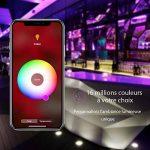 iHaper Ruban Intelligent LED Lightstrip Lumineux compatible avec Apple HomeKit et Contrôlé par Siri au réseau 2.4 GHz, Hue Ruban Lumineux RGB SMD 5050 10W, 16 Millions de Couleur Changeable, 2M adhésif, Économise d'Énergie, IP65 Étanche et Aitipoussière d image 4 produit