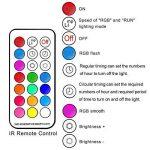 iLC Ampoule Led Couleur Edison Changement de couleur Ampoule 10W E27 Dimmable RGBW LED Ampoules [2017 Deuxième génération] - RGB 12 choix de couleur - Télécommande Compris (Lot de 2) de la marque iLC image 4 produit