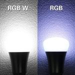 iLC Ampoule Led Couleur Edison Changement de couleur Ampoule 10W E27 Dimmable RGBW LED Ampoules [2017 Deuxième génération] - RGB 12 choix de couleur - Télécommande Compris (Lot de 2) de la marque iLC image 1 produit