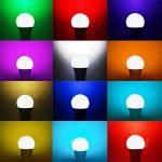 iLC Ampoule Led Couleur Edison Dimmable Changement de couleur Ampoule 10W E27 RGBW LED Ampoules [2017 Deuxième génération] - RGB 12 choix de couleur - Télécommande ComprisiLC Ampoule Led Couleur Edison Changement de couleur Ampoule 10W E27 Dimmable RGBW L image 2 produit