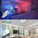 iLC Ampoule Led Couleur Edison Dimmable Changement de couleur Ampoule 10W E27 RGBW LED Ampoules [2017 Deuxième génération] - RGB 12 choix de couleur - Télécommande ComprisiLC Ampoule Led Couleur Edison Changement de couleur Ampoule 10W E27 Dimmable RGBW L image 3 produit