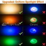iLC Ampoule Led MR16 GU10RGB SpotCulot ledChangementdeCouleur,Ampoules Led RGBWDimmable Blancchaud (2700K) Spots LED3W-Equivalence incandescence 20W, Lampe LedAnglede Faisceau 45°,200Lumen,85CRISuperhighDisplay, GU10 Douille,LumiereledLumièr image 1 produit