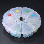 Ils–160Pièces 3mm LED diodes Jaune Rouge Bleu Vert Assortiments Kit DIY de la marque ILS. image 2 produit