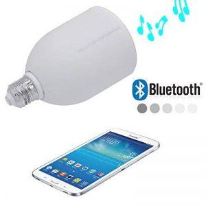 Incutex ampoule LED avec haut-parleur bluetooth intégré, télécommande inclus pour appareils bluetooth, blanc de la marque Incutex image 0 produit