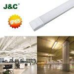 J&C® Tube LED 60CM 18W Plafonnier Étanche IP65 Lampe sur Plafond Anti-Poussière Anti-Corrosion et Anti-Choc Tube Léger Ampoule LED Blanc Neutre de Haute Qualité Fonctionnement Stable Garantie Internationale de la marque J&C image 4 produit