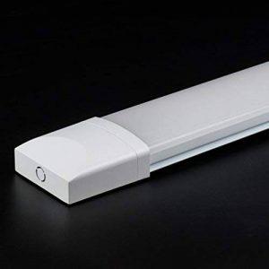 J&C® Tube LED 60CM 18W Plafonnier Étanche IP65 Lampe sur Plafond Anti-Poussière Anti-Corrosion et Anti-Choc Tube Léger Ampoule LED Blanc Neutre de Haute Qualité Fonctionnement Stable Garantie Internationale de la marque J&C image 0 produit