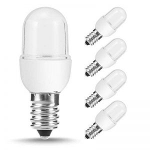 Jandcase E14Mini ampoule à LED, variateur d'intensité 1W Ampoule Petit culot à vis, équivalent à 10W ampoules, 3000K Blanc chaud, 100lumens Nuit ampoules de lampe, Lot de 4 de la marque JandCase image 0 produit