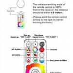 Jayool 10W B22 120 Couleurs LED RGBW Ampoule Changement de Couleur Télécommande (2017 nouveau-3ème génération), Bayonet Timing et Dimmable RGB+lumière du jour Blanc(6500K) Baïonnette (Lot de 1) de la marque Jayool image 2 produit
