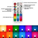 Jayool Ampoules à LED Changement de couleur, 10W E27 Ampoules RGBW, 120 couleurs RGB + Blanc Chaud, Vis Cap-4ème Génération (Lot de 1) de la marque Jayool image 1 produit