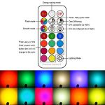 Jayool GU10 Ampoules LED, Dimmable 3W Changement de Couleur Spot Light avec Télécommande, RGB + Blanc Froid, Timier, 45° Angle de Faisceau (Lot de 4) de la marque Jayool image 1 produit