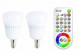 Jedi lighting 140143082 Lot de 2 ampoules idual douille E14 470 lm avec télécommande de la marque Jedi image 0 produit