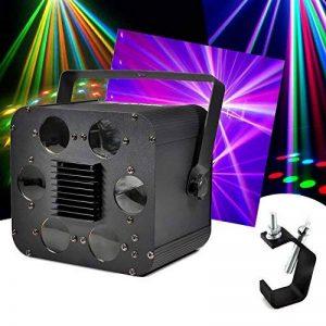 Jeux de lumières 6 projecteurs LEDs RGBW 2x10W DMX avec étrier de fixation + crochet de la marque Flash image 0 produit