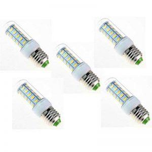 JIALUN-Ampoules Ampoule LED 12 Volt 6 Watt, G9 / E12 / E14 / E27 basse tension 12-80v, ampoule 6w - Equivalent halogène 40w - Système LED hors réseau 5 lumières ( Color : Warm white-E27 ) de la marque JIALUN-Light Bulbs image 0 produit