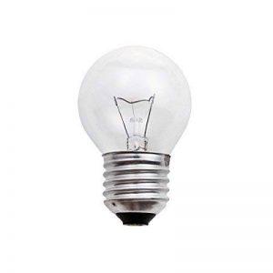 Jurassic Light - Ampoule sphérique incandescente 60Watts clair culot E27 - Pack de 10 de la marque Jurassic Light image 0 produit
