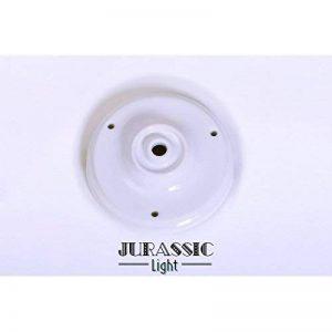 Jurassic Light - Rosace porcelaine véritable Blanche de la marque Jurassic Light image 0 produit