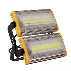 Kaigeli888 LED Projecteur, 100W Spot LED Lumière Extérieur Intérieur [IP65 Imperméable] Haute Puissance [8000LM IP65 Etanche] en Arc Eclairage Plus Loin Vaste - Blanc Chaud de la marque Kaigeli888 image 0 produit