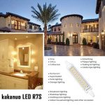Kakanuo 10W 118mm R7s LED 1200 lm Blanc Chaud 3000k Equivalent 100W Halogène Ampoule 100-265V Non Dimmable 360 ° Angle de Faisceau Remplacement Ampoule Projecteur [Classe énergétique A +] de la marque Kakanuo image 4 produit