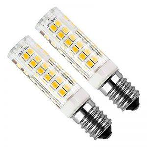 Kakanuo 2pcs E14 5W LED Ampoule 430lm 220V Blanc Chaud 3000K Remplacement A L'halogène Non-dimmable 75 2835smd de la marque Kakanuo image 0 produit