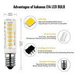 Kakanuo 2pcs E14 5W LED Ampoule 430lm 220V Blanc Chaud 3000K Remplacement A L'halogène Non-dimmable 75 2835smd de la marque Kakanuo image 2 produit