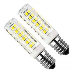 Kakanuo 2pcs E14 5W LED Ampoule 430lm 220V Blanc Froid 6000K Hotte Remplacement A L'halogène Non-dimmable 75 2835smd de la marque Kakanuo image 0 produit