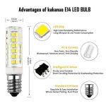 Kakanuo 2pcs E14 5W LED Ampoule 430lm 220V Blanc Froid 6000K Hotte Remplacement A L'halogène Non-dimmable 75 2835smd de la marque Kakanuo image 2 produit