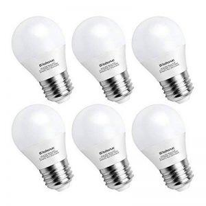 Kakanuo 6W Ampoule Led Culot E27 Globe G45 Blanc Froid 5000K 600lm AC 85-265V Equivalent 60W Halogène Ampoule Non Dimmable [Classe Energétique A+] de la marque Kakanuo image 0 produit