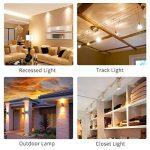 Kakanuo Ampoule LED GU10 Équivalent 55 Watt Ampoule halogène Blanc chaud 3000K 5.5 Watt 450lumens AC85-265V Spot LED Light Non-dimmable (Lot de 6) de la marque Kakanuo image 4 produit